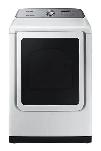 Samsung DV5400 7.4 cu. ft. Gas Dryer with Steam Sanitize+ in White