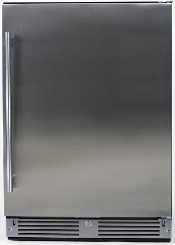 Undercounter Beverage Center with stainless steel door (Left Hinge Door)