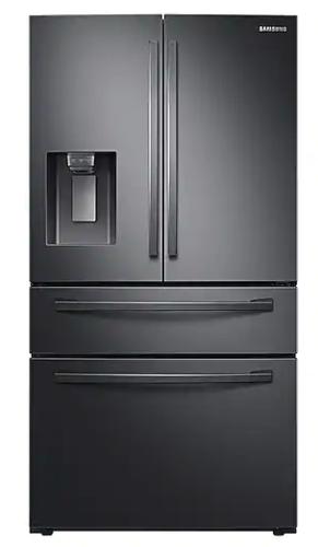 Samsung 24 cu. ft. 4-Door French Door, Counter Depth Refrigerator with FlexZone™ Drawer