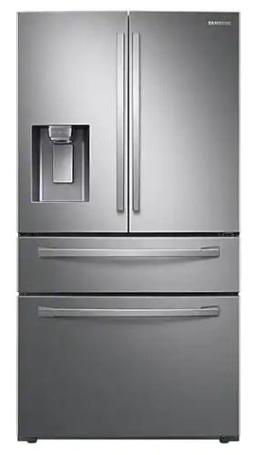Samsung 28 cu. ft. 4-Door French Door Refrigerator with Food Showcase