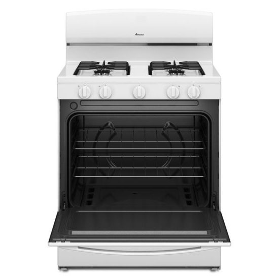 Model: AGR4230BAW | 30-inch Gas Range with EasyAccess™ Broiler Door