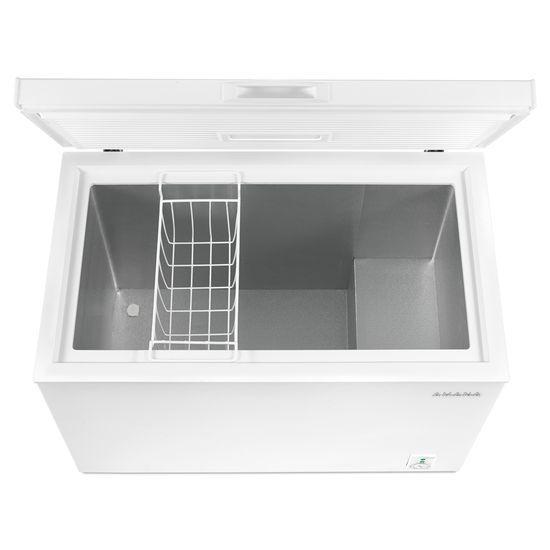 Model: AQC0701GRW | 7.0 Cu. Ft. Compact Freezer with 1 Basket