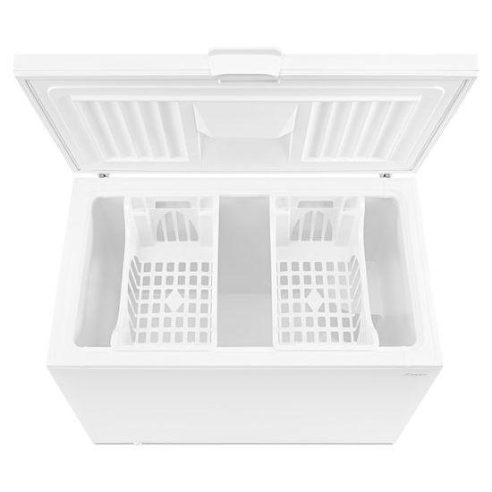 Model: AZC31T15DW | 15 Cu. Ft. Chest Freezer with 2 Baskets