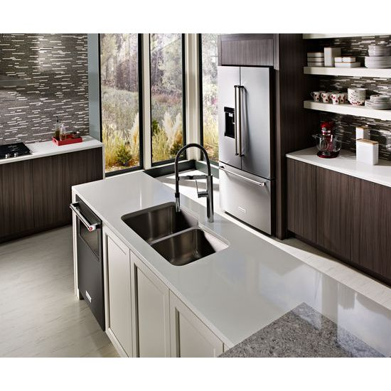 Model: KDTM804EBS | 44 dBA Dishwasher with Window and Lighted Interior