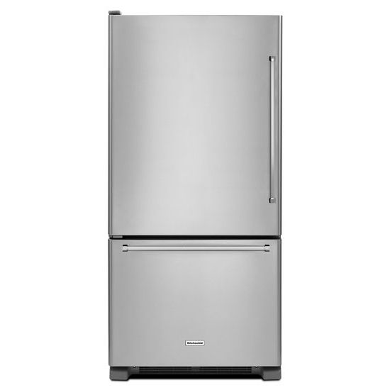 22 cu. ft. 33-Inch Width Full Depth Non Dispense Bottom Mount Refrigerator