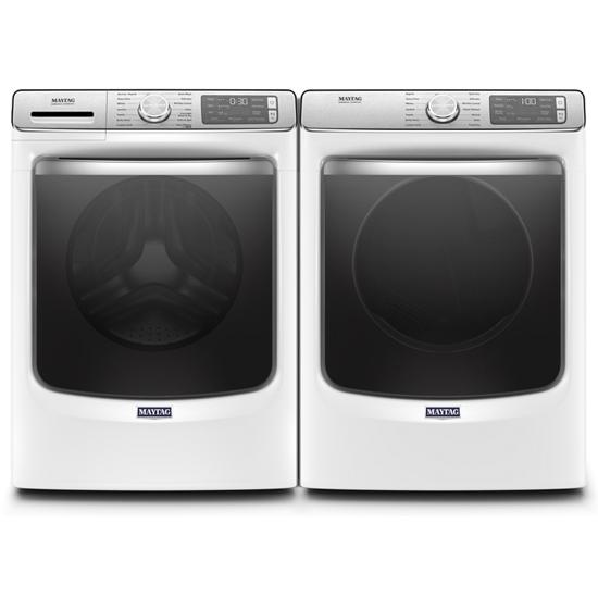 Model: MED8630HW | Smart Front Load Electric Dryer with Extra Power and Advanced Moisture Sensing with industry-exclusive extra moisture sensor - 7.3 cu. ft.