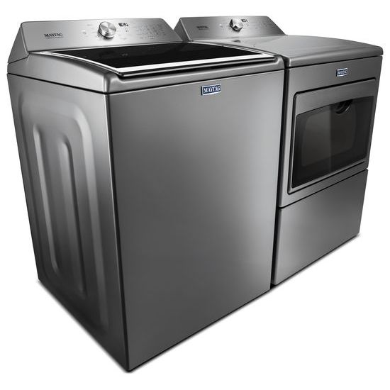 Model: MEDB765FC | Large Capacity Electric Dryer with IntelliDry® Sensor – 7.4 cu. ft.
