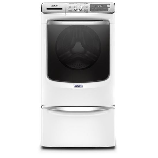 Model: MHW8630HW | Smart Front Load Washer with Extra Power and 24-Hr Fresh Hold® option - 5.0 cu. ft.