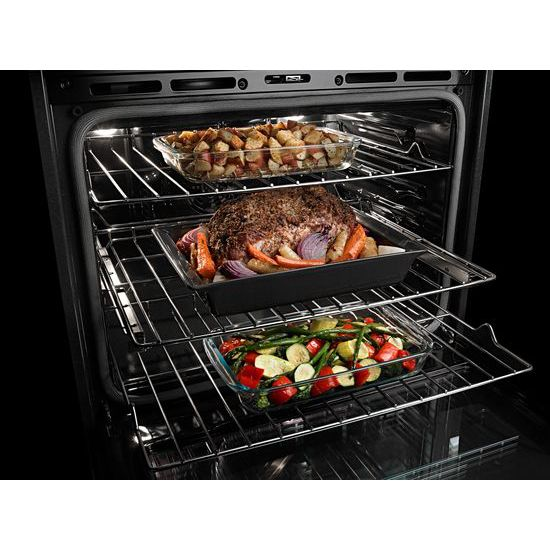 Model: MMW9730FZ | 30-INCH WIDE COMBINATION WALL OVEN WITH TRUE CONVECTION - 6.4 CU. FT.