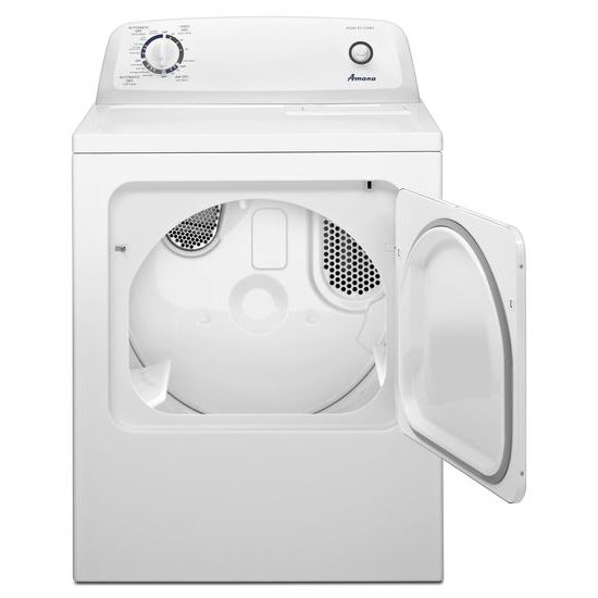 Model: NED4655EW | 6.5 cu. ft. Electric Dryer with Wrinkle Prevent Option