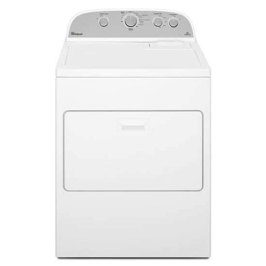 Model: WED5000DW | 7.0 cu.ft Top Load Electric Dryer with Wrinkle Shield™ Plus