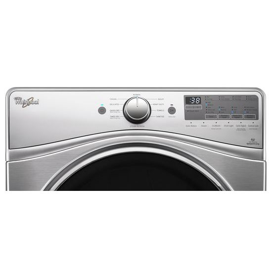 Model: WED92HEFU | 7.4 cu.ft Front Load Electric Dryer with Advanced Moisture Sensing, EcoBoost™