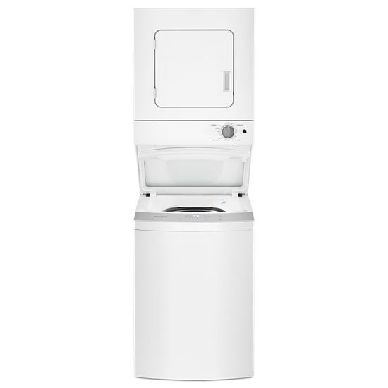 1.6 cu.ft, 120V/20A Electric Stacked Laundry Center with 6 Wash cycles and Wrinkle Shield™