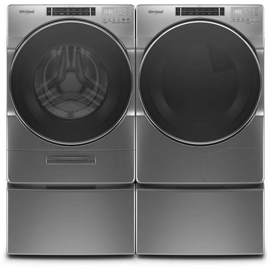Model: WFW862CHC | 4.3 cu. ft. Closet-Depth Front Load Washer with Load & Go™ XL Dispenser