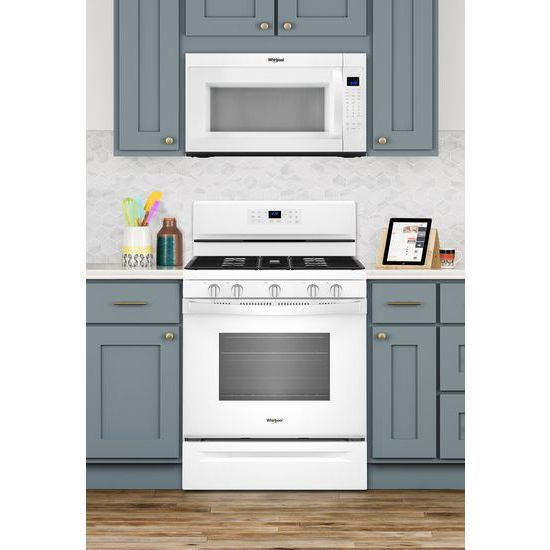Model: WMH53521HW   2.1 cu. ft. Over-the-Range Microwave with Steam cooking
