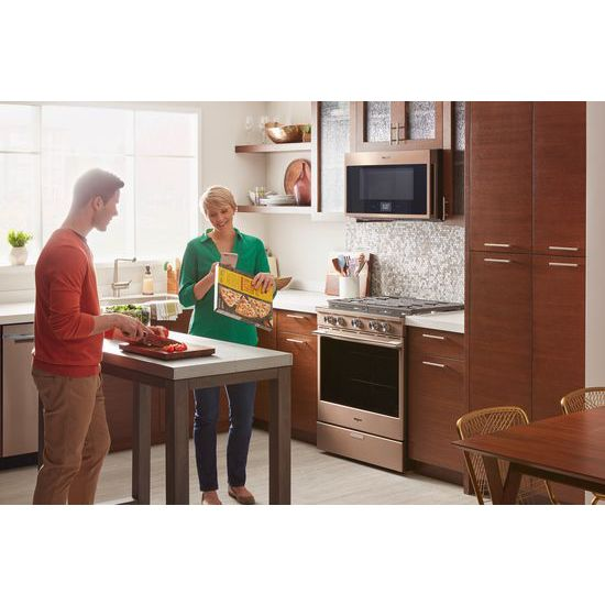 Model: WMHA9019HN | 1.9 cu. ft. Smart Over-the-Range Microwave with Scan-to-Cook technology