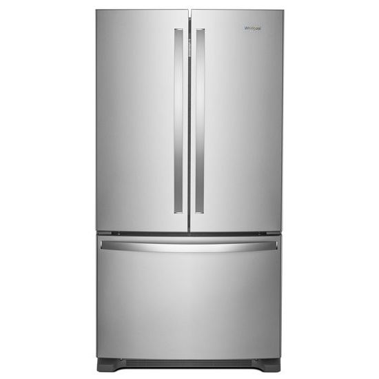Whirlpool 36-inch Wide French Door Refrigerator with Water Dispenser - 25 cu. ft.