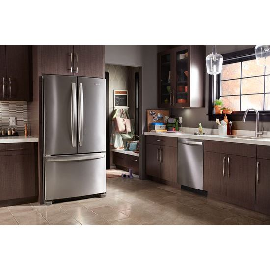 Model: WRF535SWHZ | Whirlpool 36-inch Wide French Door Refrigerator with Water Dispenser - 25 cu. ft.