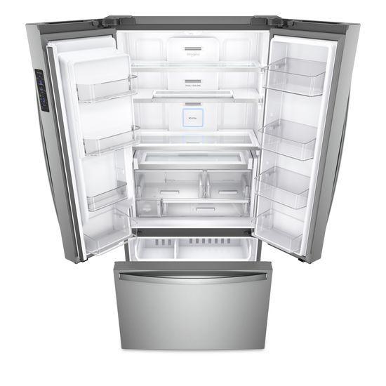 Model: WRF954CIHZ | 36-inch Wide Counter Depth French Door Refrigerator - 24 cu. ft.