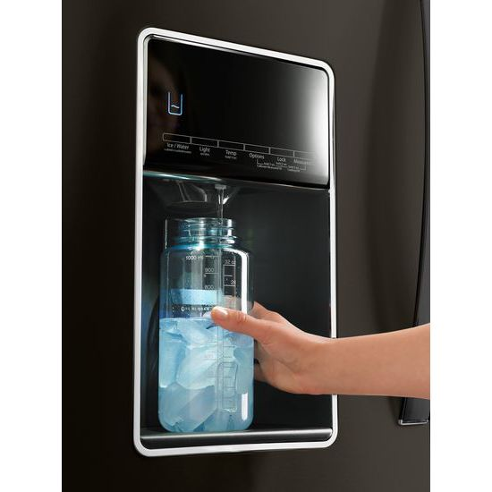 Model: WRX986SIHV   36-inch Wide 4-Door Refrigerator with Exterior Drawer - 26 cu. ft.