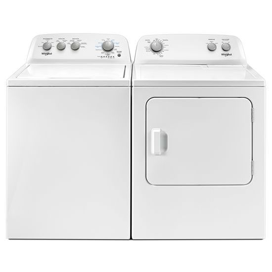 Model: WTW4850HW | 3.9 cu. ft. Top Load Washer with Soaking Cycles, 12 Cycles