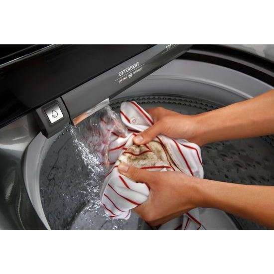 Model: WTW7500GC | 4.8 cu.ft HE Top Load Washer with Built-In Water Faucet, Intuitive Touch Controls