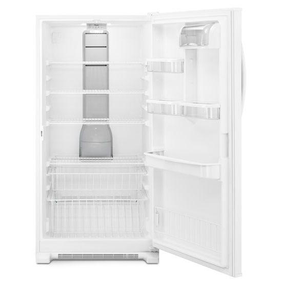 Model: WZF79R20DW | 20 cu. ft. Upright Freezer with Temperature Alarm