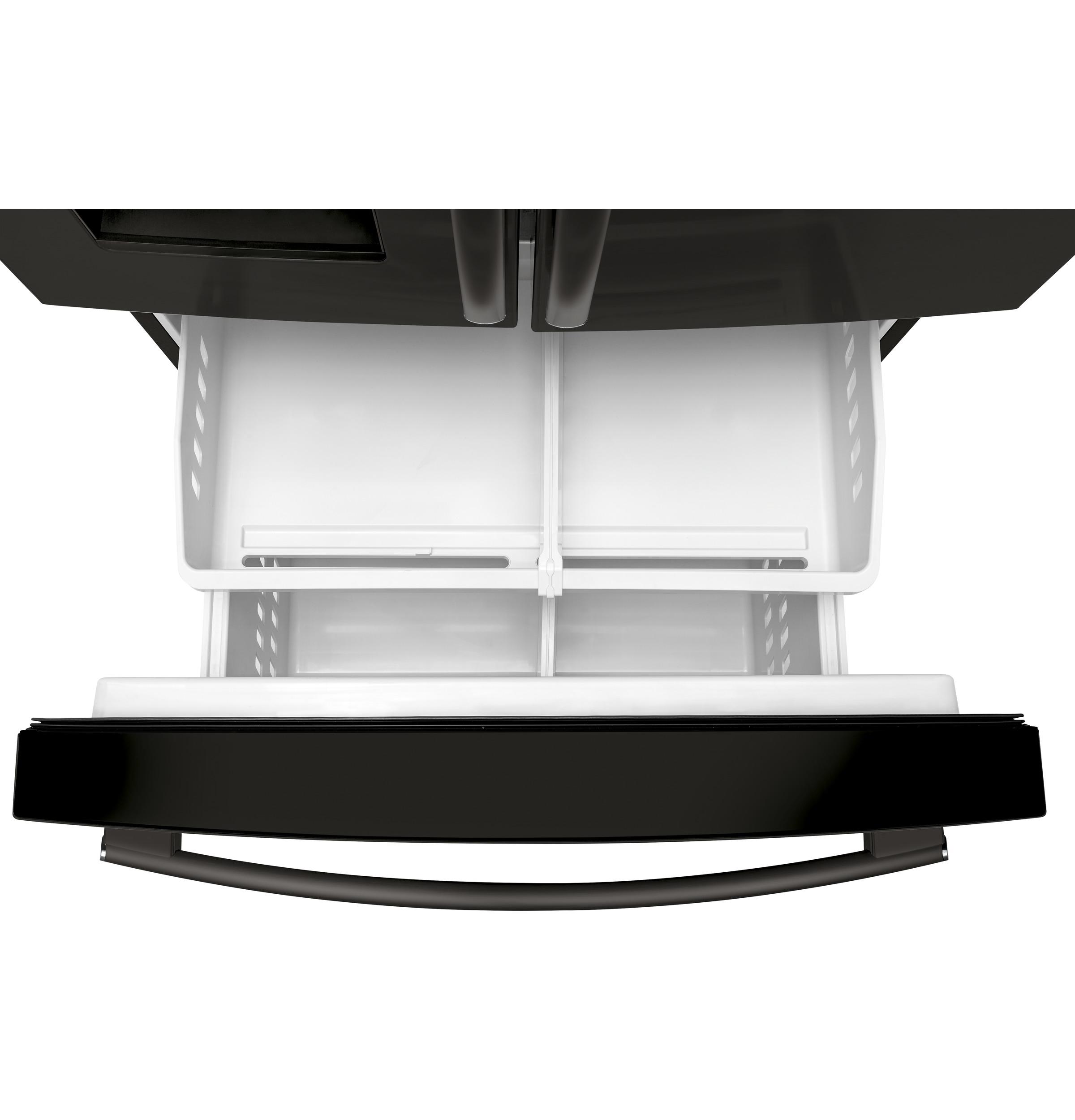 Model: GFE26JBMTS | GE® ENERGY STAR® 25.6 Cu. Ft. French-Door Refrigerator