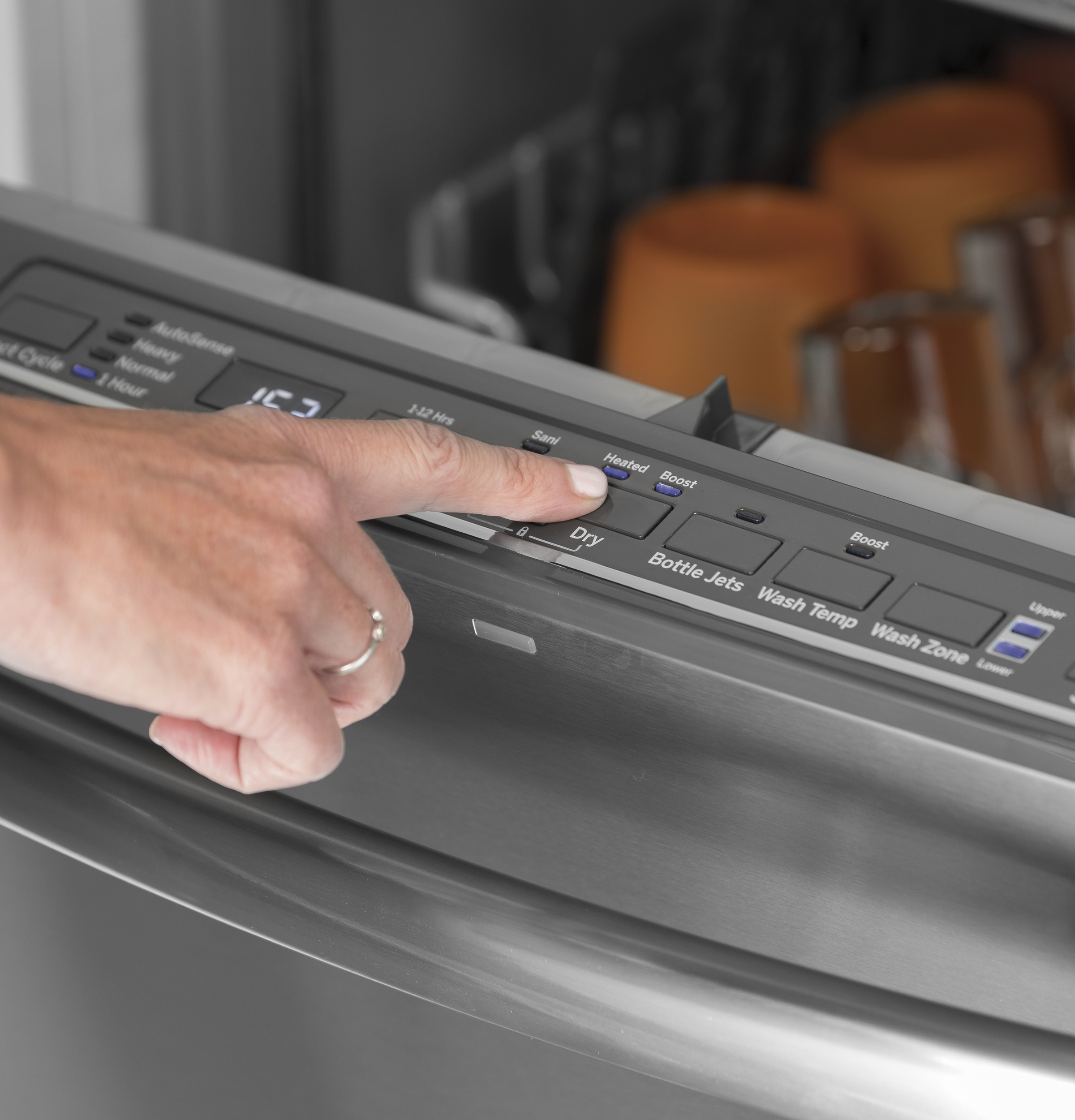 Model: GDT605PMMES | GE® Dishwasher with Hidden Controls