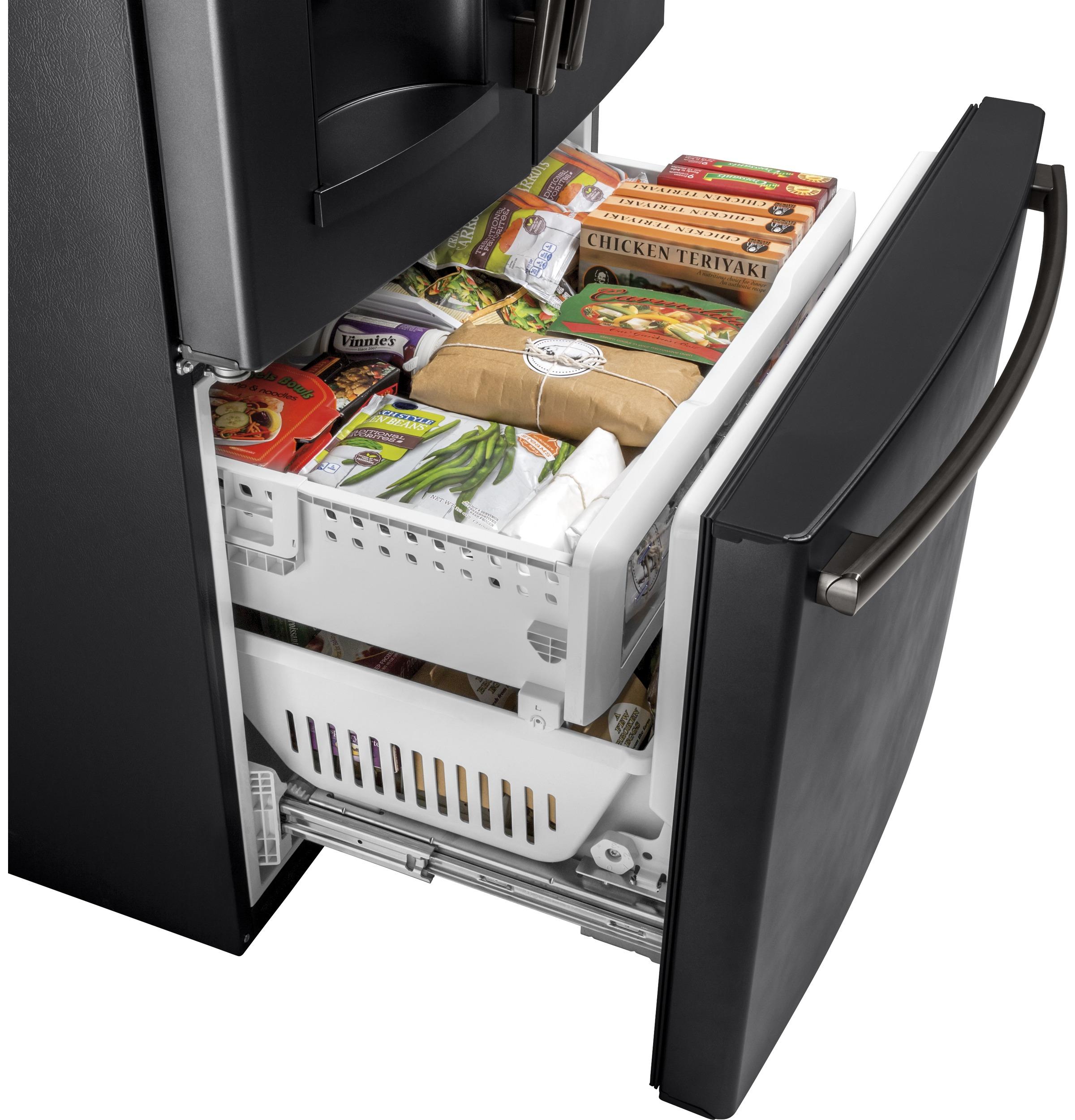 Model: GFE28GELDS   GE® ENERGY STAR® 27.8 Cu. Ft. French-Door Refrigerator