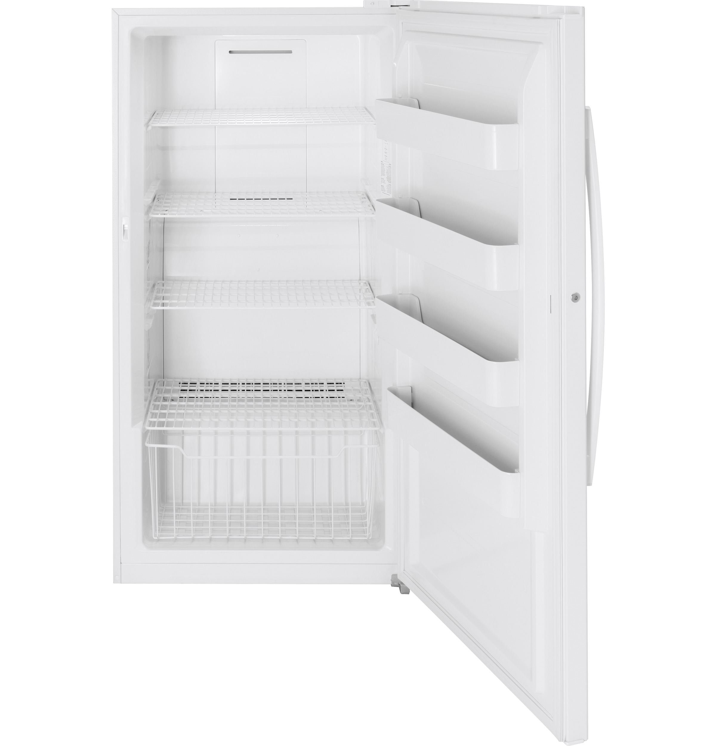 Model: FUF17SMRWW | GE® 17.3 Cu. Ft. Frost-Free Upright Freezer