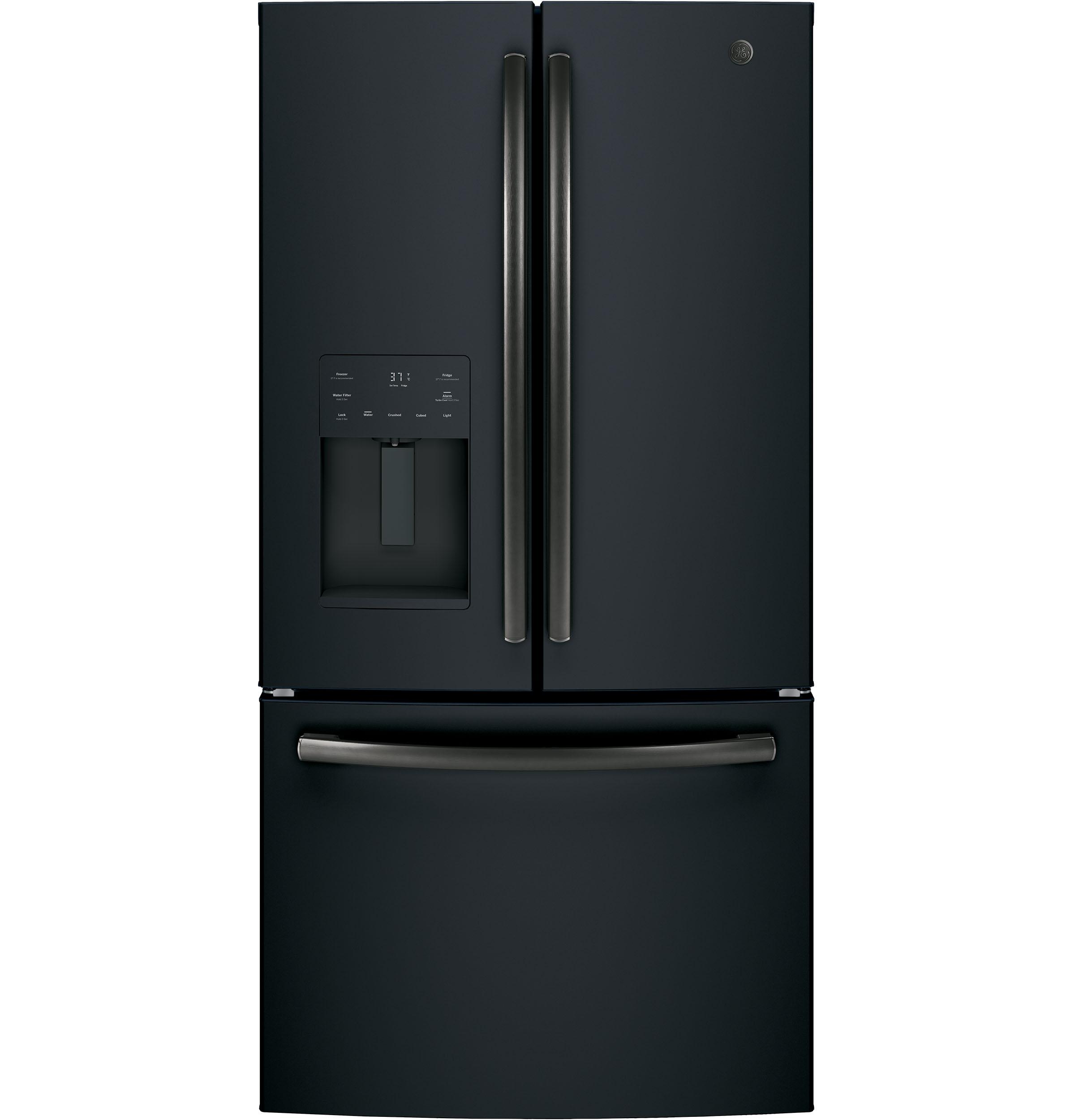 Model: GFE26JEMDS | GE® ENERGY STAR® 25.6 Cu. Ft. French-Door Refrigerator