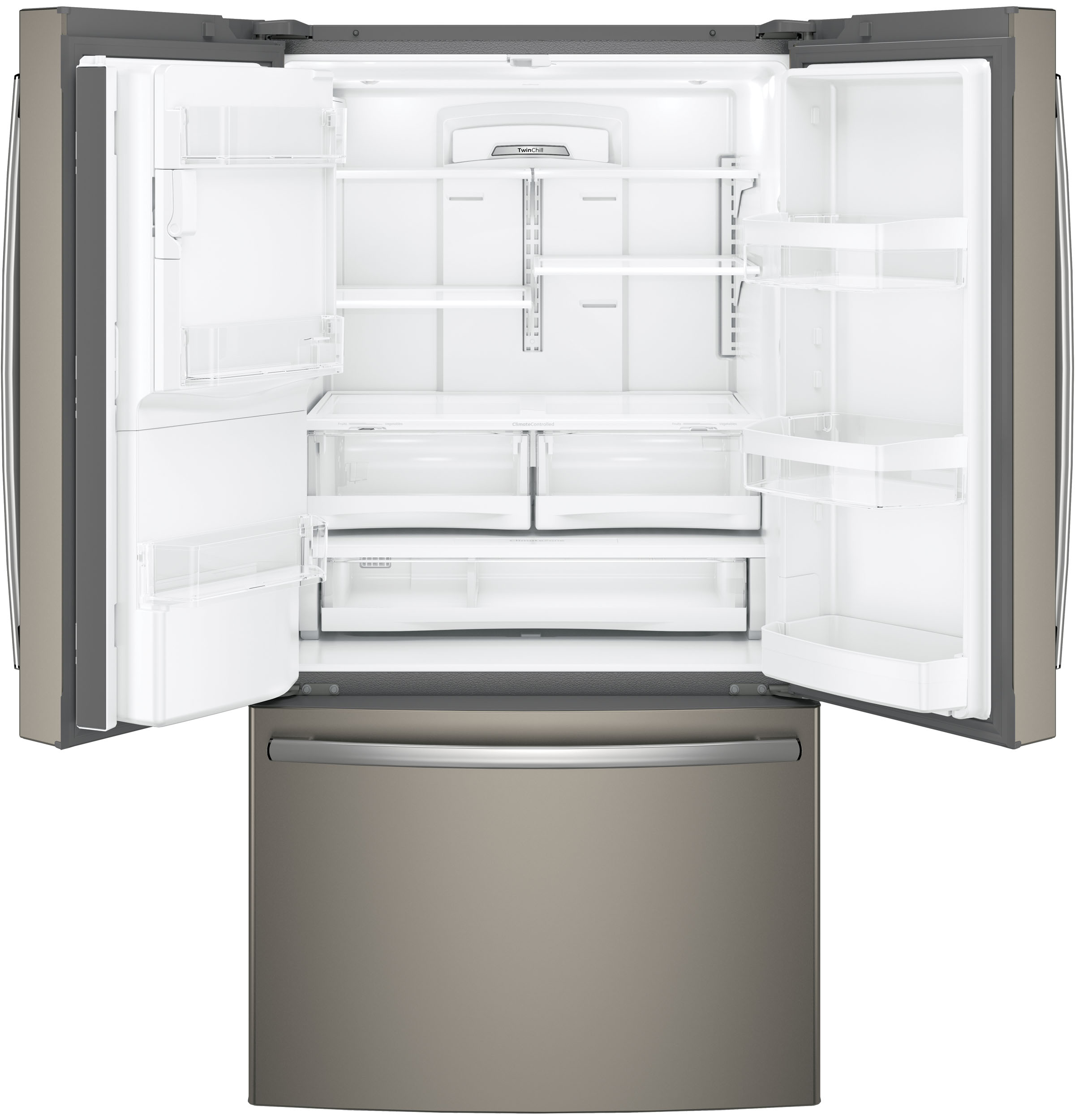 Model: GFS26GMNES | GE® 25.8 Cu. Ft. French-Door Refrigerator