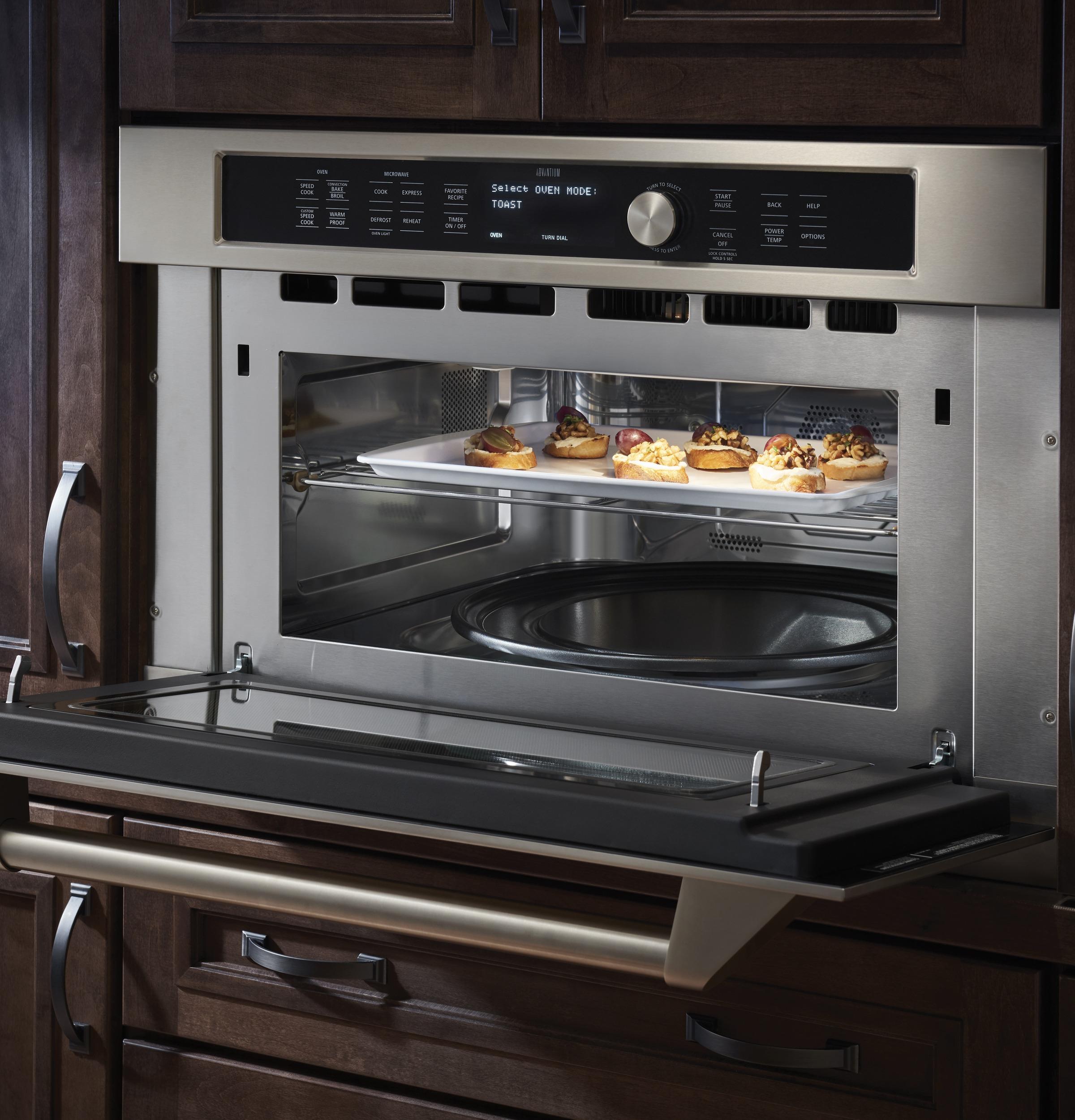 Model: ZSC1202JSS | Monogram Built-In Oven with Advantium® Speedcook Technology- 120V