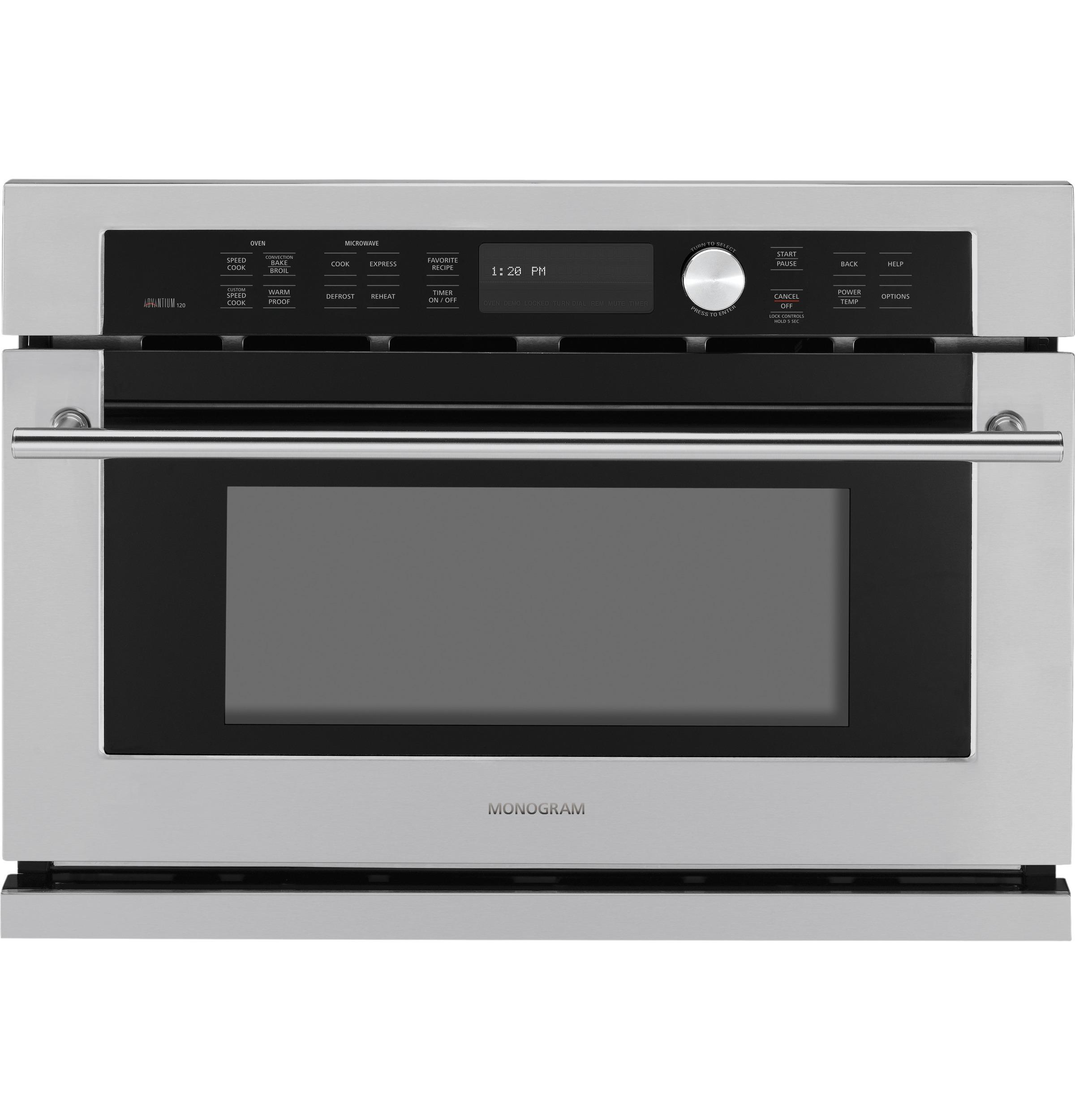 Model: ZSC1001JSS | Monogram Built-In Oven with Advantium® Speedcook Technology- 120V