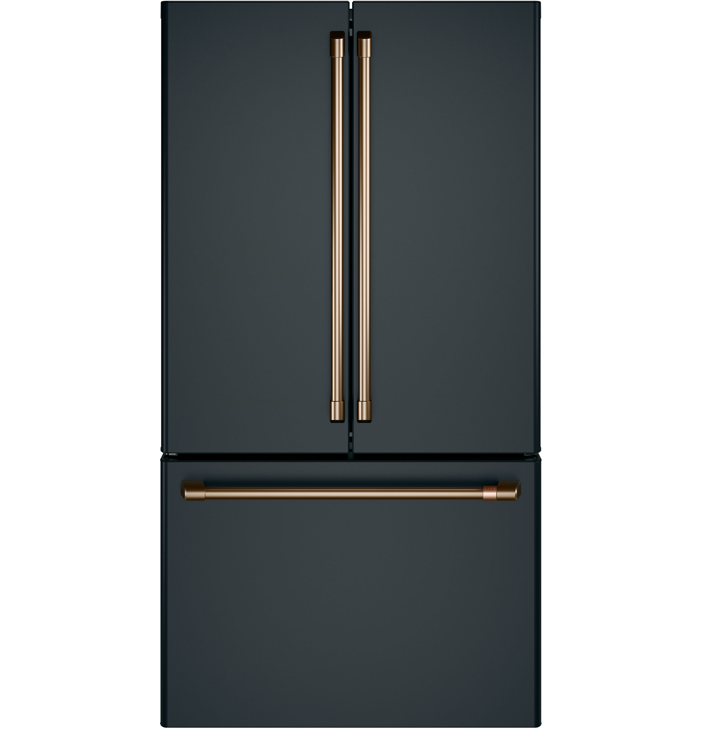 Model: CWE23SP3MD1 | Café™ ENERGY STAR® 23.1 Cu. Ft. Counter-Depth French-Door Refrigerator