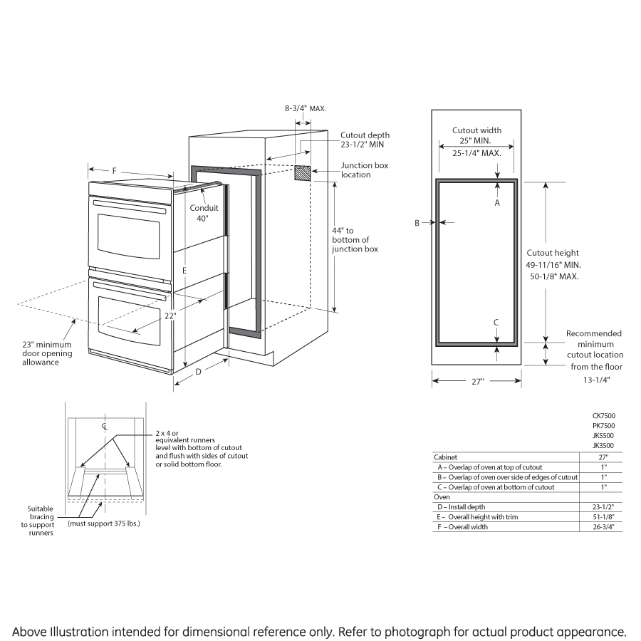 Model: JK5500SFSS | GE® 27