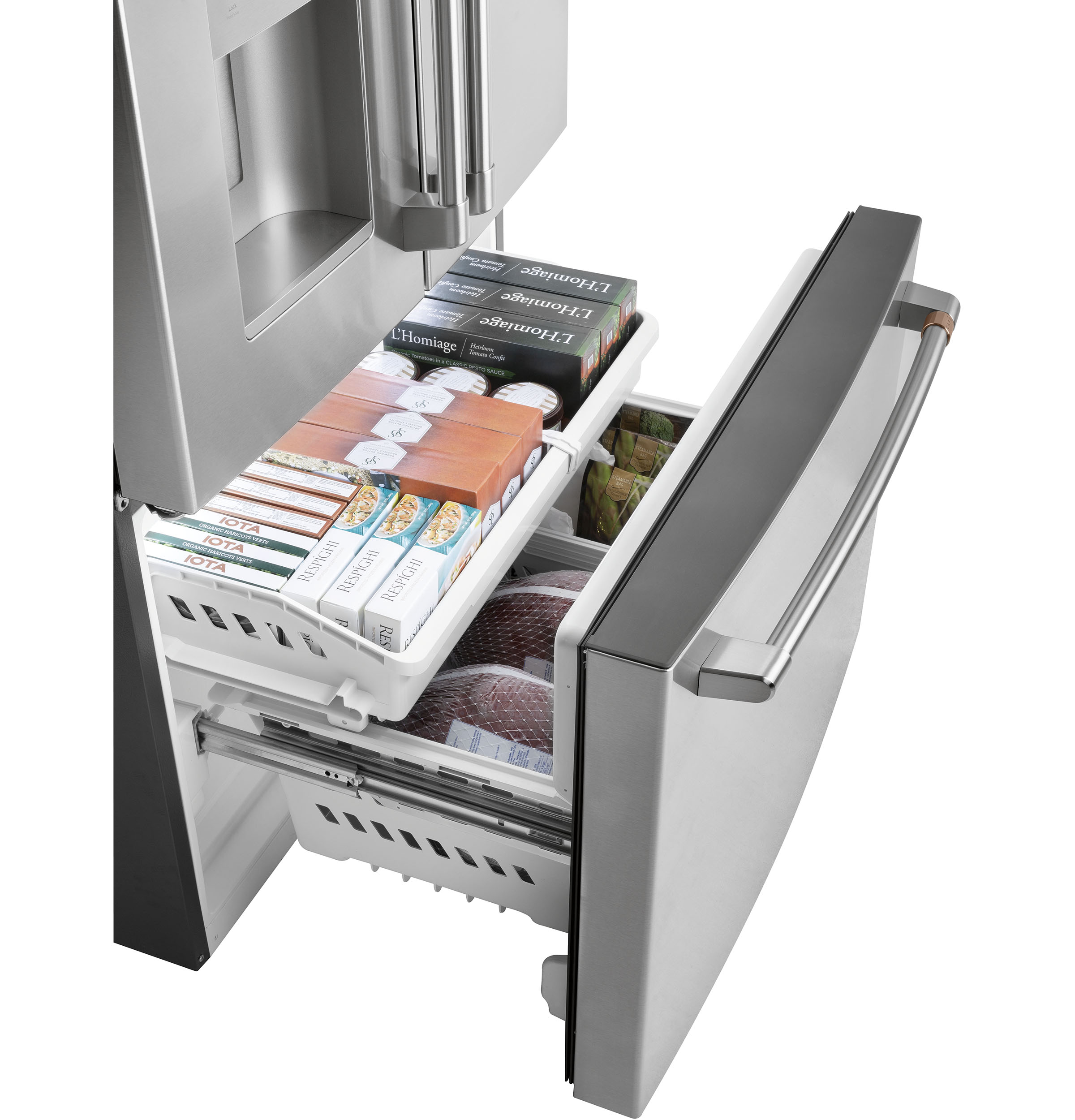 Model: CFE26KP2NS1   Café™ ENERGY STAR® 25.6 Cu. Ft. French-Door Refrigerator