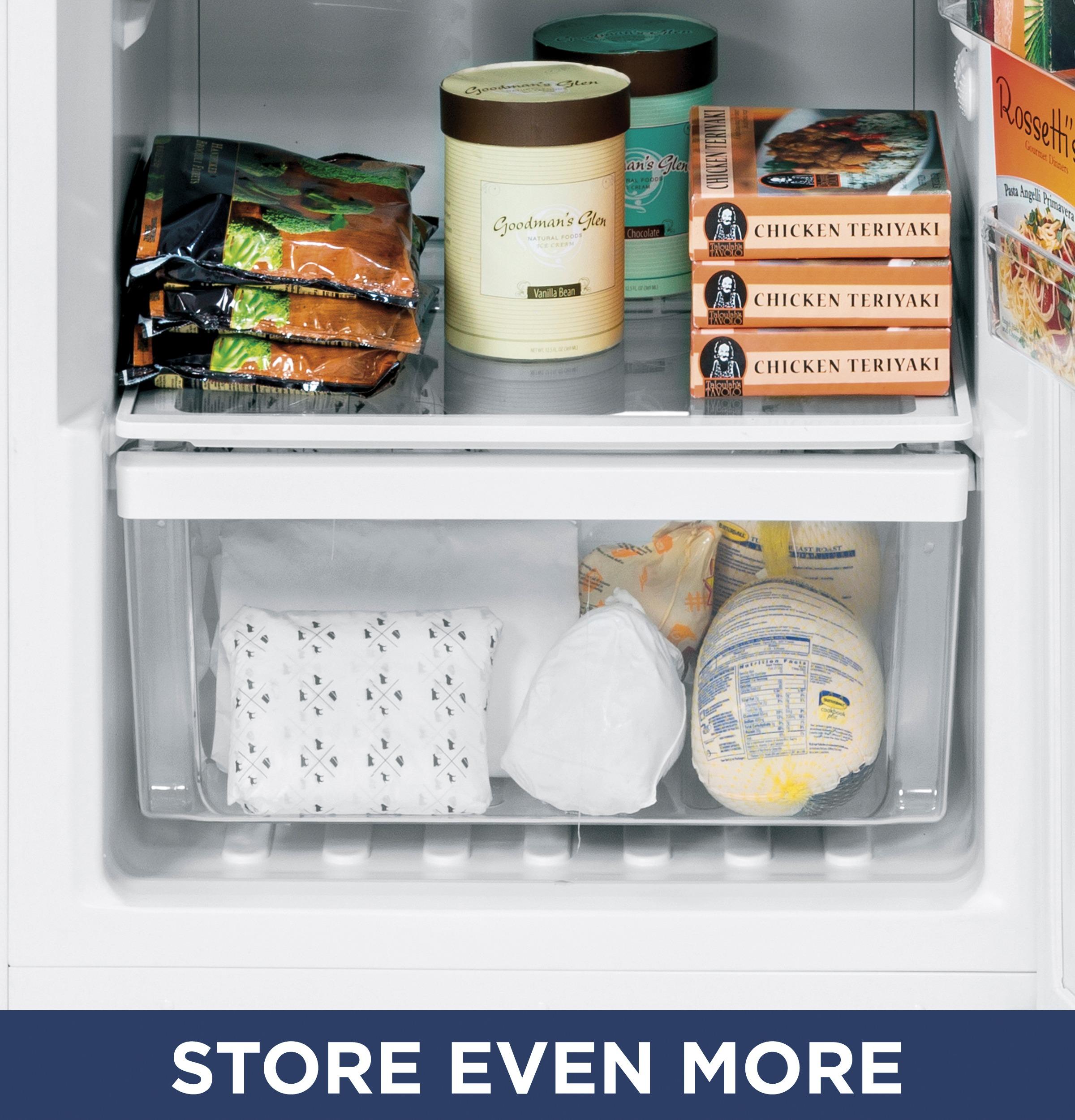 Model: FUF17DLRWW | GE® 17.3 Cu. Ft. Frost-Free Upright Freezer