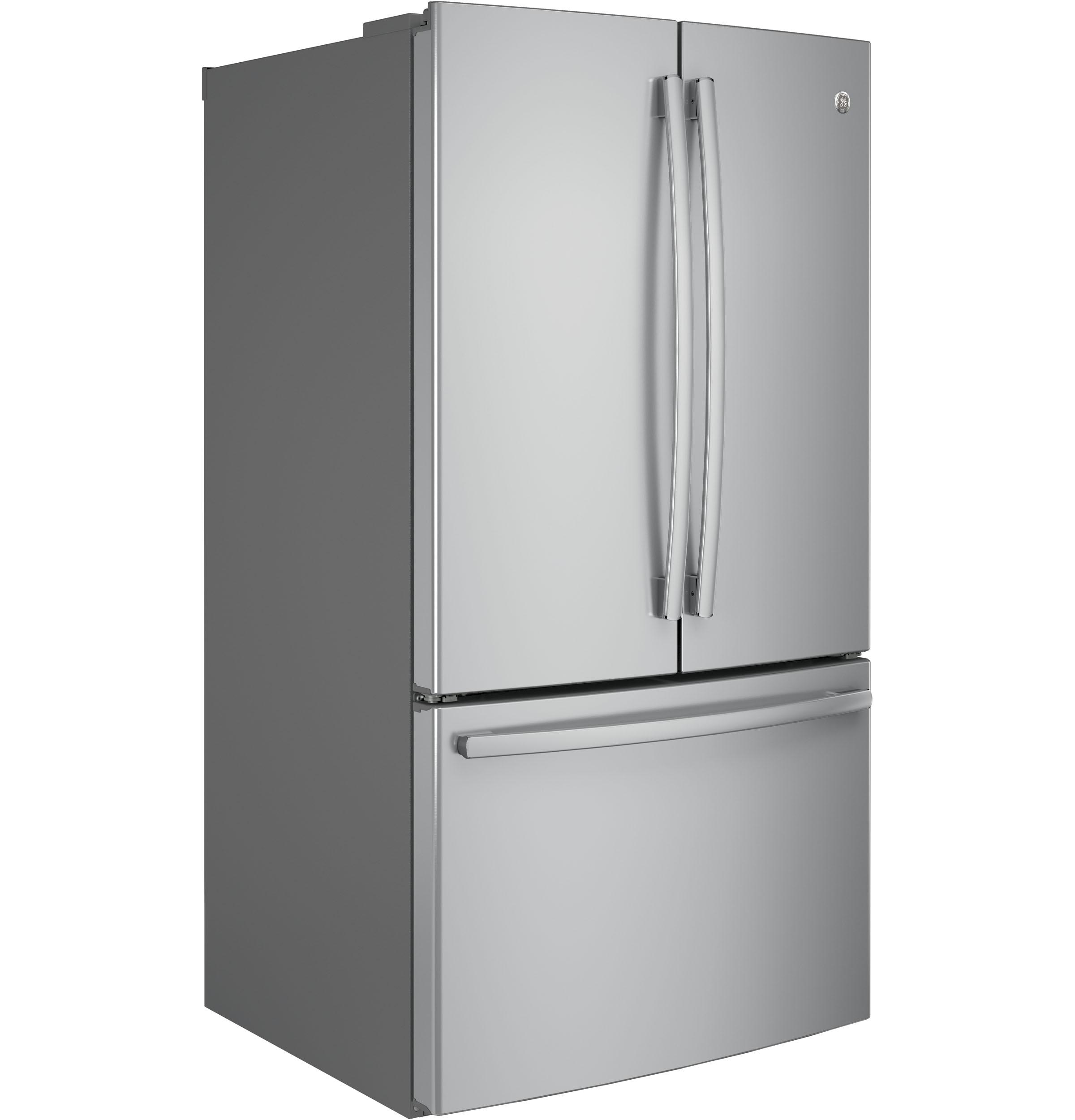 Model: GNE29GSKSS   GE® ENERGY STAR® 28.7 Cu. Ft. French-Door Refrigerator