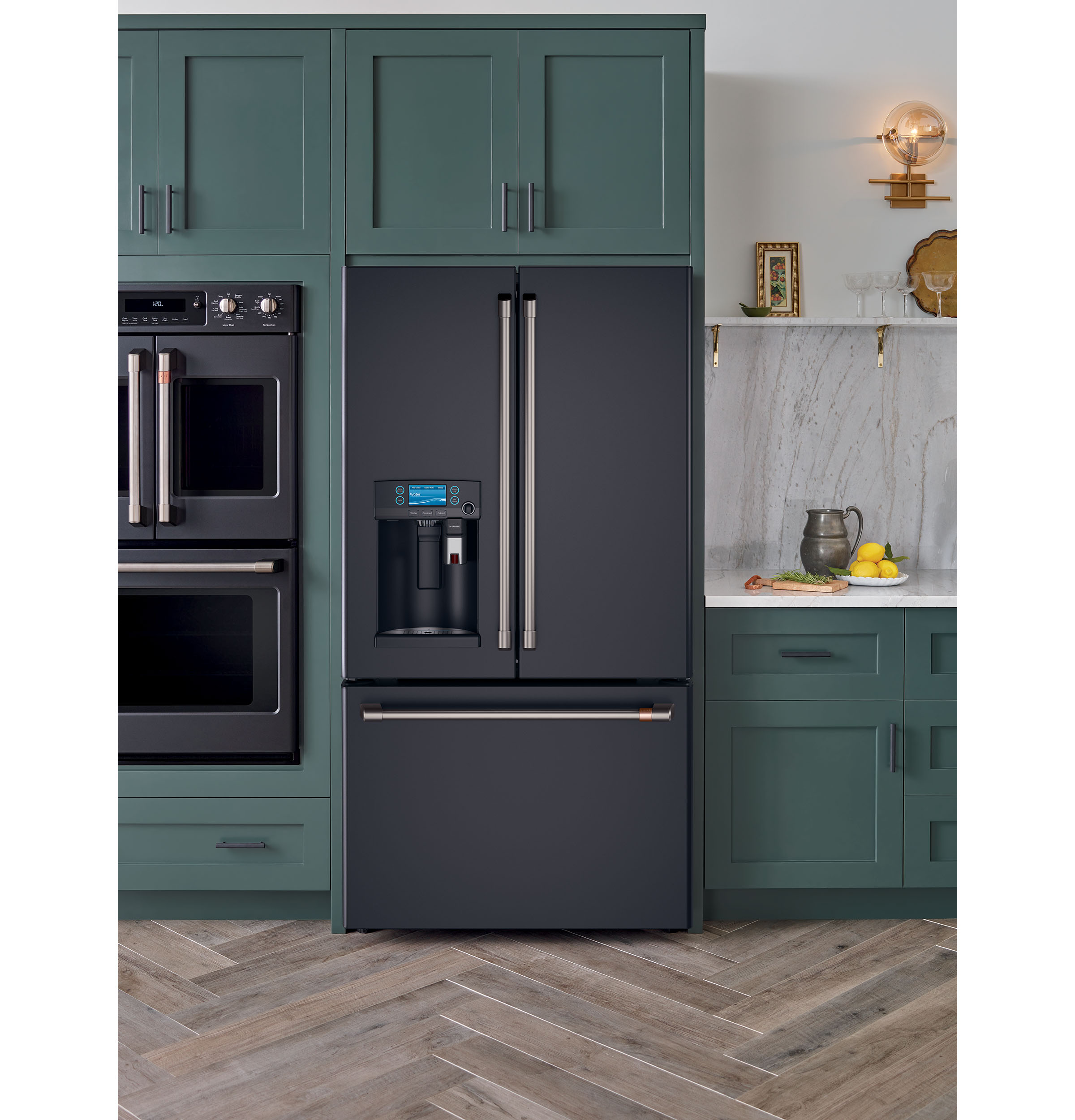 Model: CFE28UP3MD1 | Café™ ENERGY STAR® 27.8 Cu. Ft. French-Door Refrigerator with Keurig® K-Cup® Brewing System