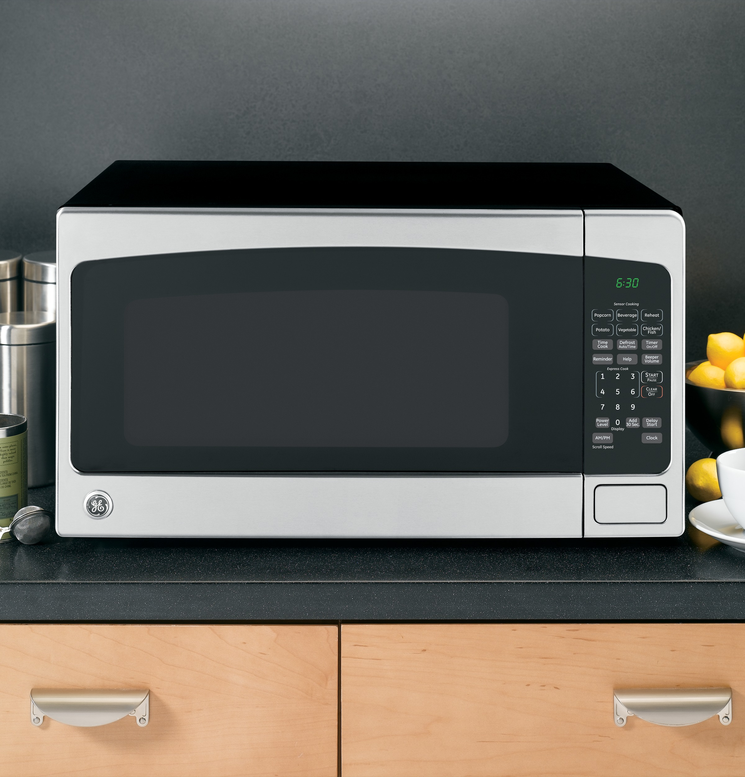 Model: JES2051SNSS | GE® 2.0 Cu. Ft. Capacity Countertop Microwave Oven