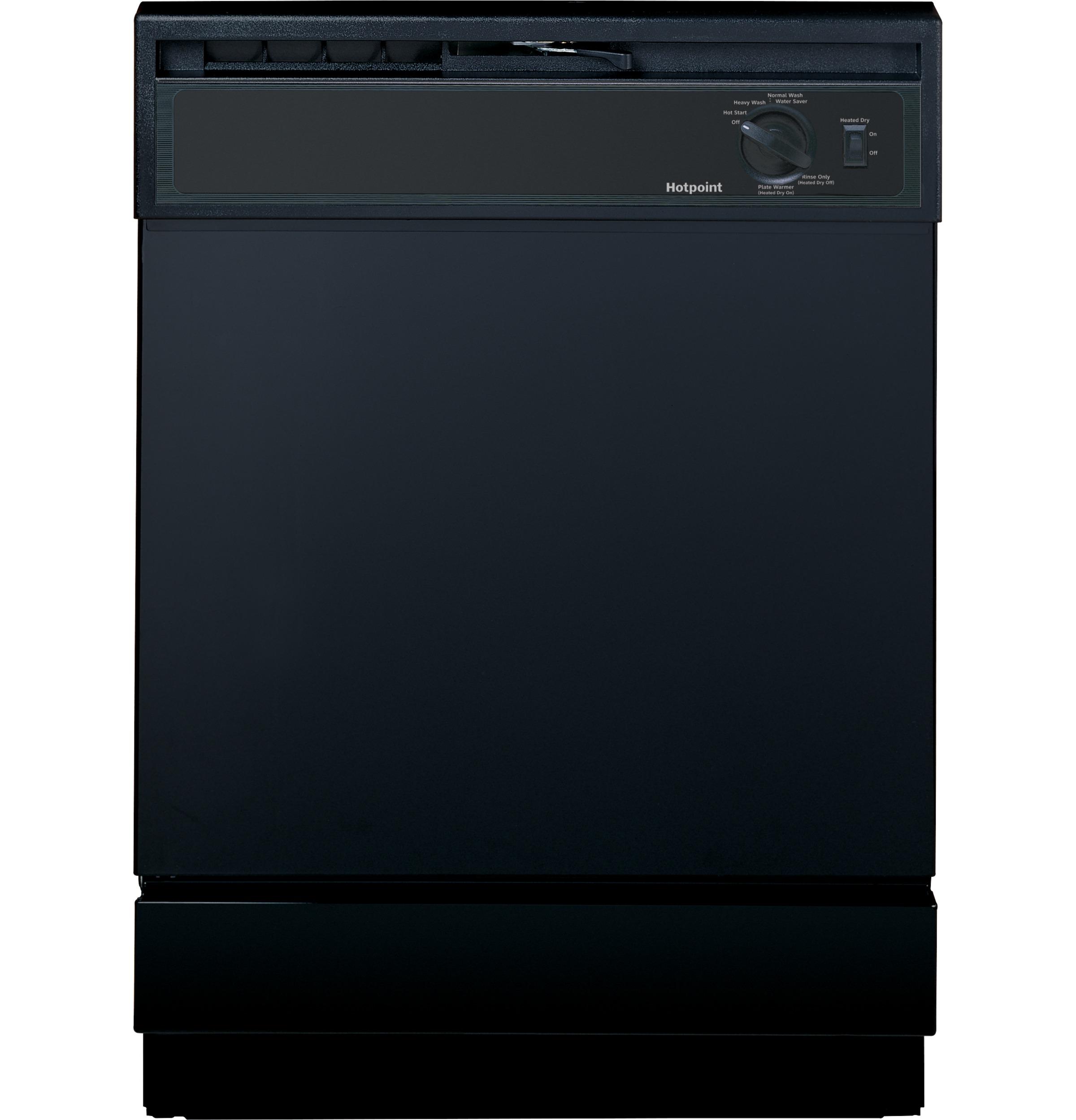 Model: HDA2100HBB | Hotpoint® Built-In Dishwasher