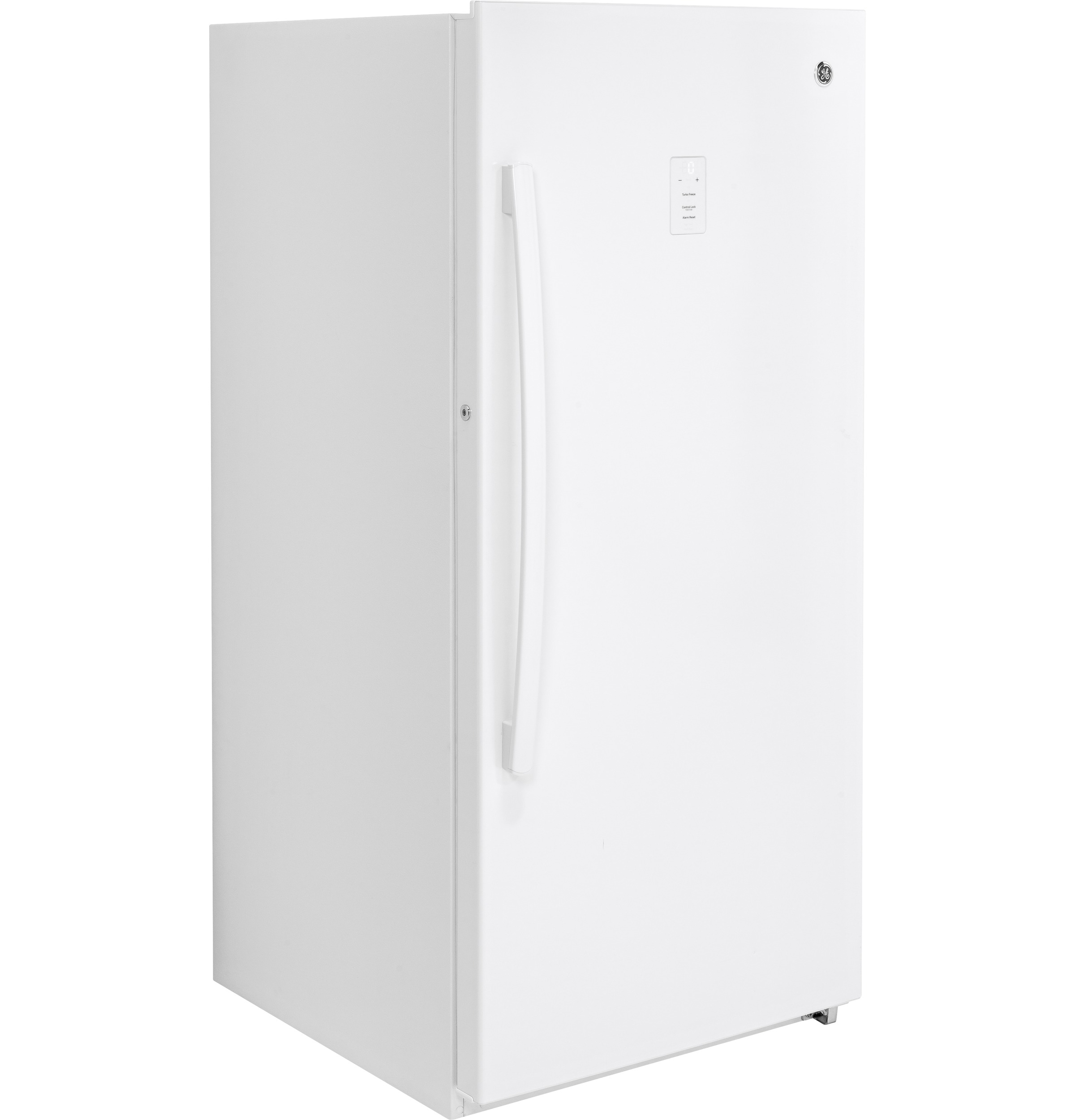 Model: FUF14DLRWW | GE® 14.1 Cu. Ft. Frost-Free Upright Freezer