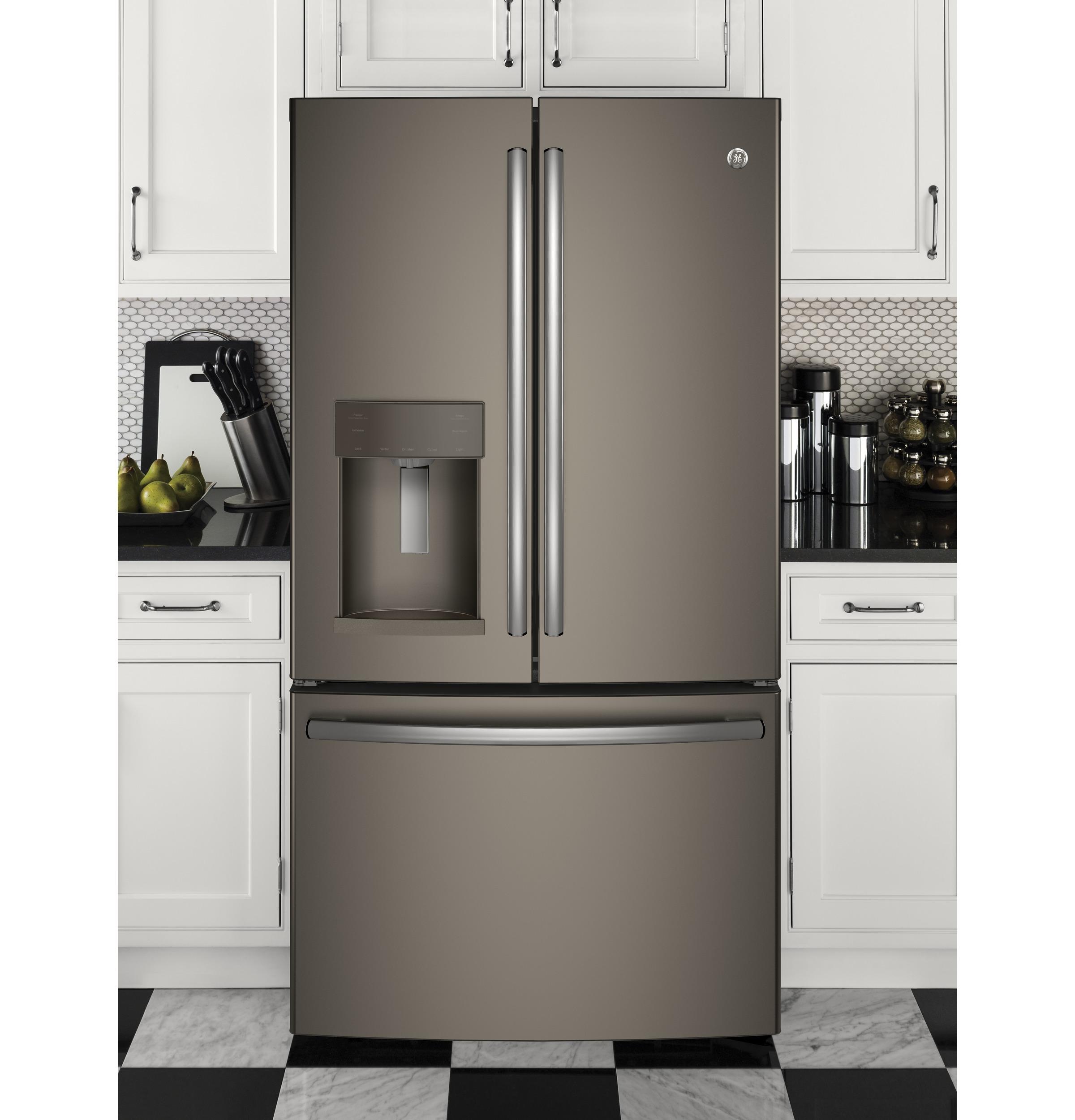 Model: GFE28GMKES   GE® ENERGY STAR® 27.8 Cu. Ft. French-Door Refrigerator