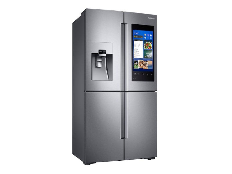 Samsung 22 cu. ft. Capacity Counter Depth 4-Door Flex™ Refrigerator with Family Hub™ (2017)