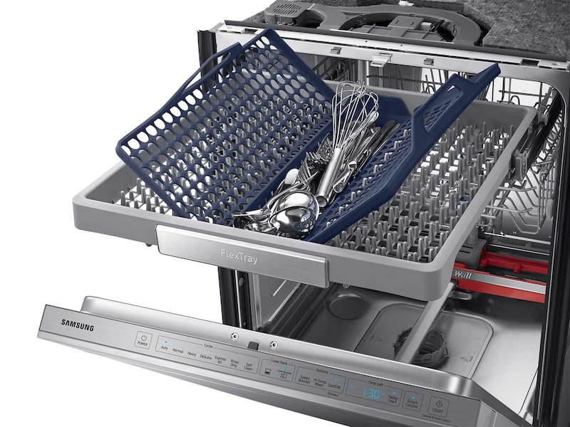 Model: DW80M9960US | Top Control Dishwasher with Flextray™
