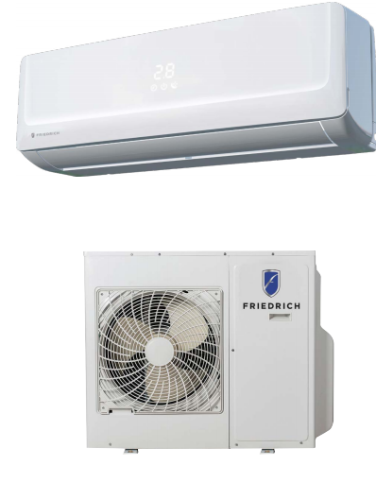 Friedrich Split System Package consisting of Floating Air Pump + Heat Pump