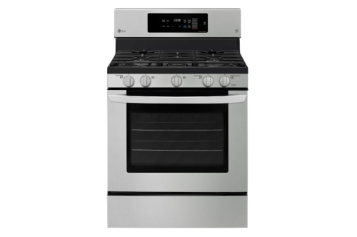 LG 5.4 cu. ft. Gas Single Oven Range with Fan Convection and EasyClean