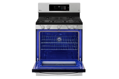 Model: LRG3194ST | LG 5.4 cu. ft. Gas Single Oven Range with Fan Convection and EasyClean